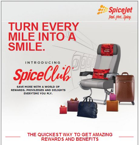 Spicejet relaunches a revamped SpiceClub loyalty program